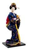Muñeca japonesa del geisha Fotografía de archivo