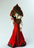 Muñeca rusa de la reina Imagen de archivo libre de regalías