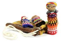 Muñecas de la preocupación Fotografía de archivo libre de regalías