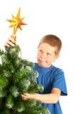 Muecas en la Navidad Fotografía de archivo libre de regalías