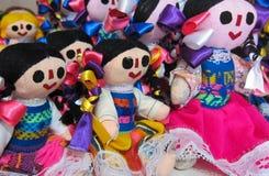 Muñecas mexicanas Imagen de archivo libre de regalías