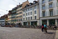 Muehlenplatz在卢赛恩 免版税库存照片