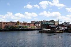 Muelle Boston de la independencia Fotos de archivo libres de regalías