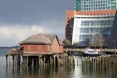 Muelle de Boston Fotografía de archivo libre de regalías