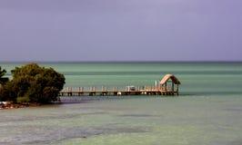 Muelle de la bahía Imagen de archivo libre de regalías