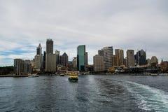 Muelle de la circular de Sydney Imágenes de archivo libres de regalías