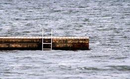 Muelle de la natación imagen de archivo libre de regalías