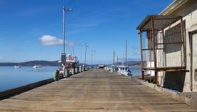 Muelle de la pesca fotografía de archivo