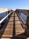 Muelle de la pesca Fotografía de archivo libre de regalías