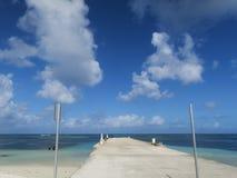 Muelle de la playa Imagenes de archivo