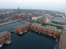 Muelle de Liverpool Albert foto de archivo libre de regalías