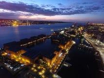 Muelle de Liverpools albert Foto de archivo libre de regalías