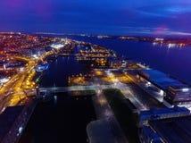 Muelle de Liverpools albert Fotos de archivo libres de regalías