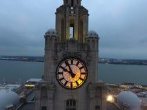 Muelle de Liverpools albert Fotografía de archivo libre de regalías