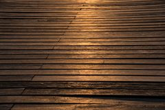 Muelle de madera Foto de archivo libre de regalías