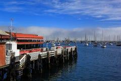 Muelle de Monterey Fishermans imagenes de archivo
