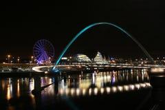 Muelle de Newcastle Gateshead Imagenes de archivo