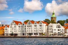 Muelle de Stavanger Imágenes de archivo libres de regalías