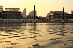 Muelle de Tianjin Haihe fotografía de archivo