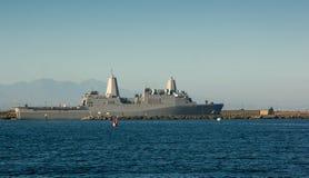 Muelle de transporte anfibio - USS New Orleans Foto de archivo