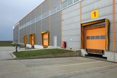 Muelle de Warehouse Imagen de archivo libre de regalías