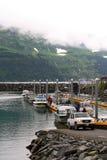Muelle del barco Fotos de archivo libres de regalías