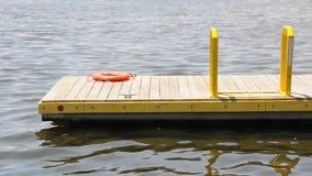Muelle del barco (2) almacen de metraje de vídeo