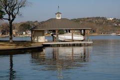 Muelle del barco Imágenes de archivo libres de regalías
