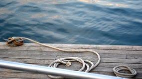 Muelle del barco (2) Foto de archivo libre de regalías