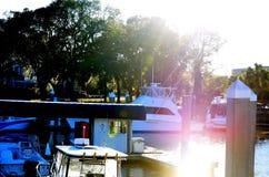 Muelle del barco (2) Imágenes de archivo libres de regalías