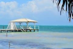 Muelle del Caribe de Sun Imagen de archivo libre de regalías