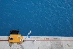 Muelle del Caribe (paisaje) Imagen de archivo
