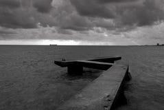 Muelle del cemento Imagenes de archivo