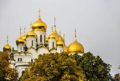 Muelle del Kremlin en Moscú Fotografía de archivo libre de regalías