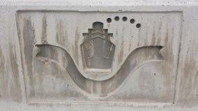 muelle del logotipo imagen de archivo libre de regalías