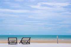 Muelle del paisaje del mar imagen de archivo libre de regalías