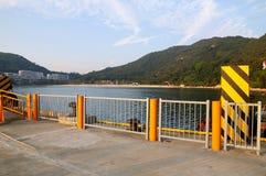 Muelle del sur de la bahía Foto de archivo