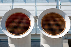 Muelle en el acceso de Génova. Detalle Fotografía de archivo libre de regalías