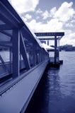 Muelle en el parque de Mowbray fotos de archivo libres de regalías