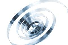 Muelle en espiral Foto de archivo libre de regalías