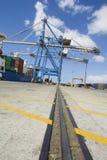 Muelle en Limassol Chipre fotografía de archivo libre de regalías