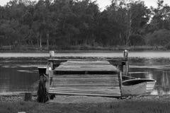 Muelle histórico Fotos de archivo libres de regalías