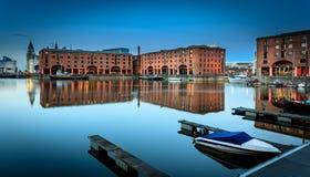 Muelle Liverpool de Albert Fotos de archivo libres de regalías