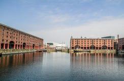 Muelle Liverpool de Albert Fotos de archivo