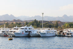 Muelle marino Imágenes de archivo libres de regalías