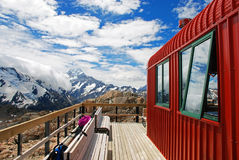 Mueller hut Royalty Free Stock Images