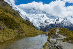 Mueller Hut Route New Zealand Royalty Free Stock Photo