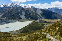Mueller Hut Route New Zealand Royalty Free Stock Photos