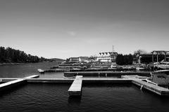 Muelles de Killarney Foto de archivo