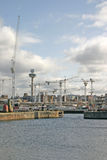 Muelles de Liverpool Imagenes de archivo